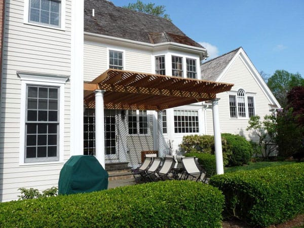 custom pergola new canaan ct